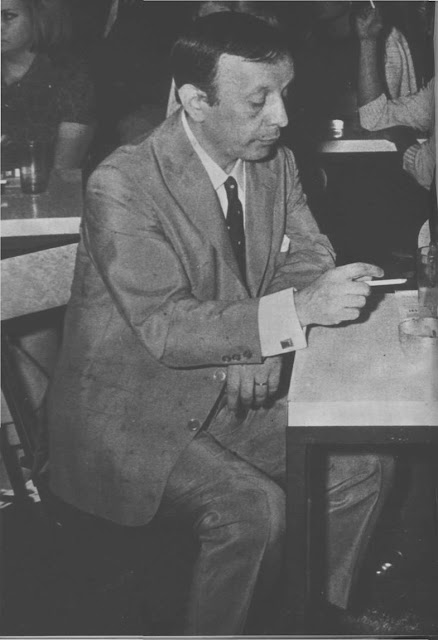 Roberto Rufino en Mar del Plata en 1970