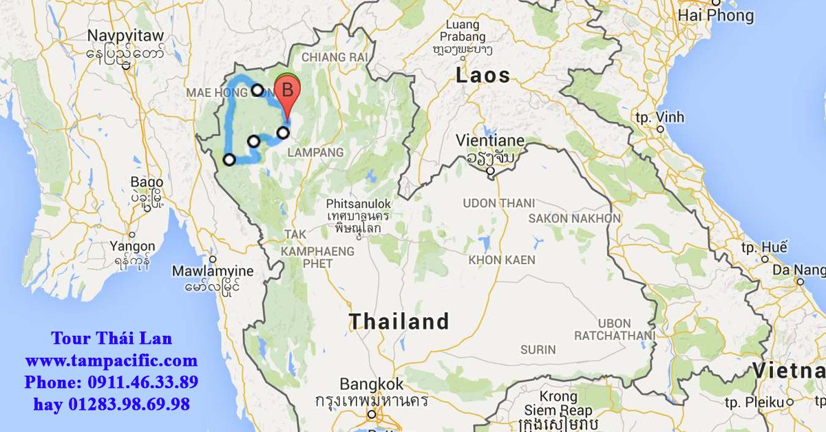 Có nên lựa chọn du lịch Chiang Mai Thái Lan hay Chiang Rai ở Thái Lan ?