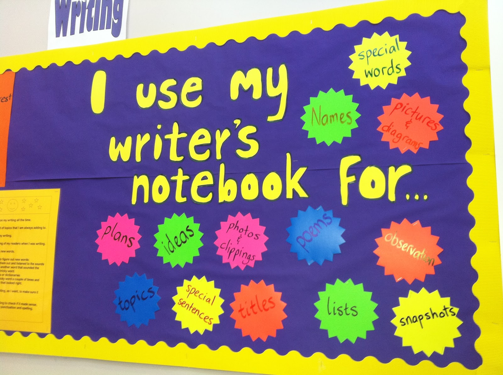 My Teacher Has A Writer's Notebook Too!