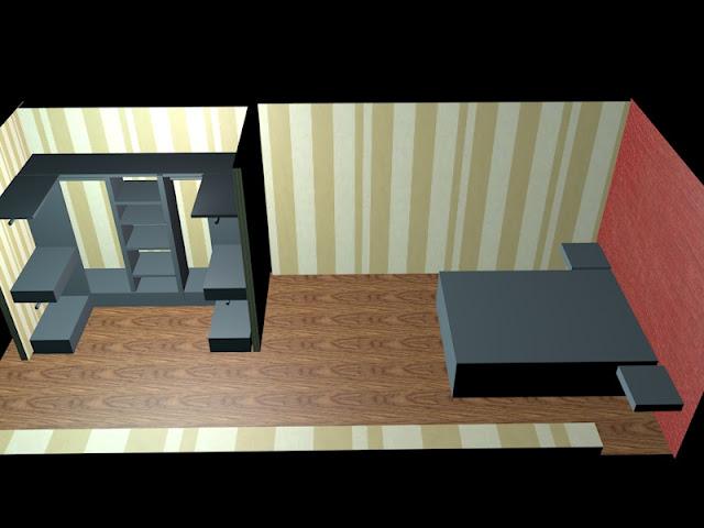dormitorio decoracion3d  www.lolatorgadecoracion.es