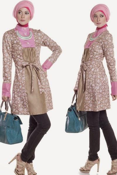 10 Contoh Model Baju Muslim Lebaran Terbaru