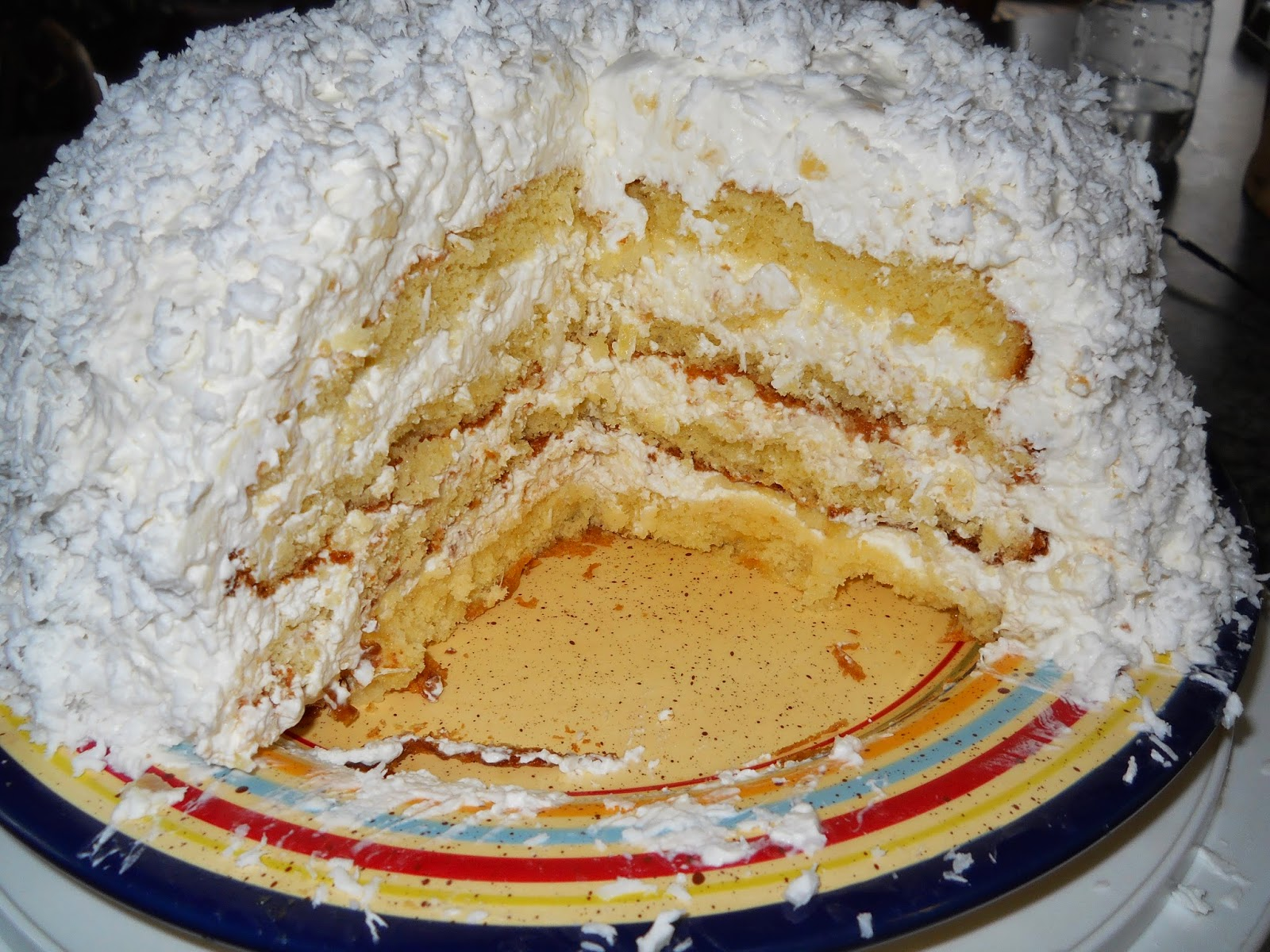 Best Moist Coconut Cake