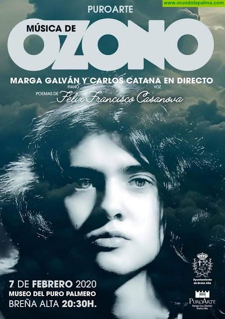Margarita Galván y Carlos Catana traerán 'Música de Ozono' a una nueva edición de Puro Arte en Breña Alta