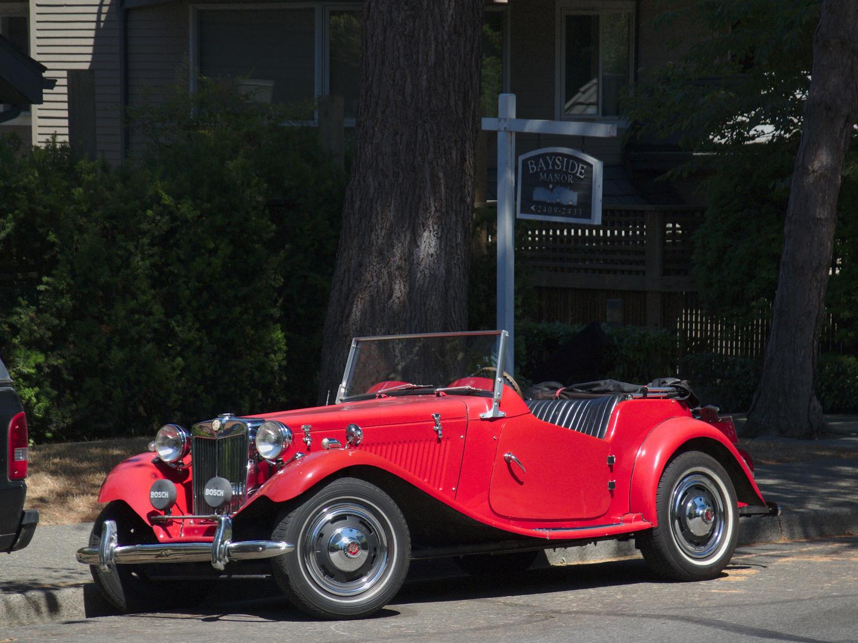 "Old Parked Cars Vancouver: Fiberfab MiGi II ""MG TD"" Kit Car"