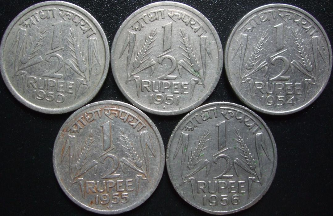 Anna Pice Series Coins Of Republic Of India Sanoj Coins