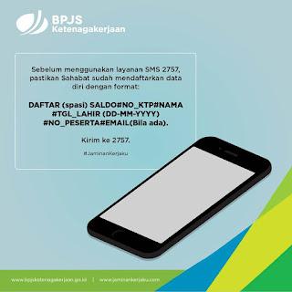 layanan sms bpjs ketenagakerjaan 2757