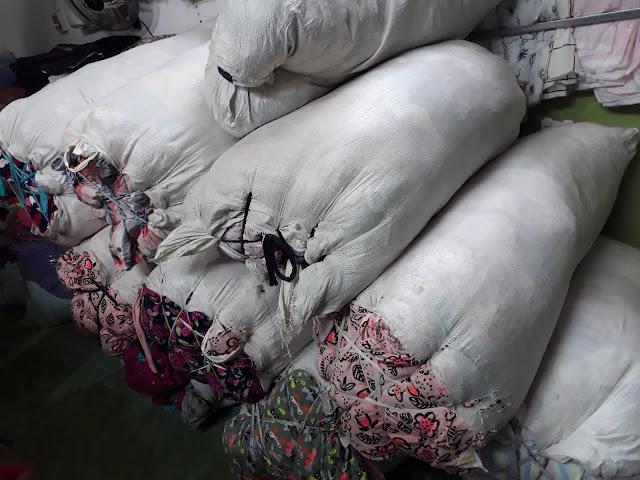 Lô 644kg cotton khúc xuất dư