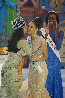 Megan Young Winning, Miss World 2013