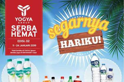 Promo Katalog Toserba Yogya Terbaru 11 - 24 Januari 2019