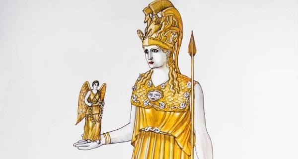 Το χαμένο χρυσελεφάντινο άγαλμα της Αθηνάς θα «ζωντανέψει» στο Μουσείο της Ακρόπολης