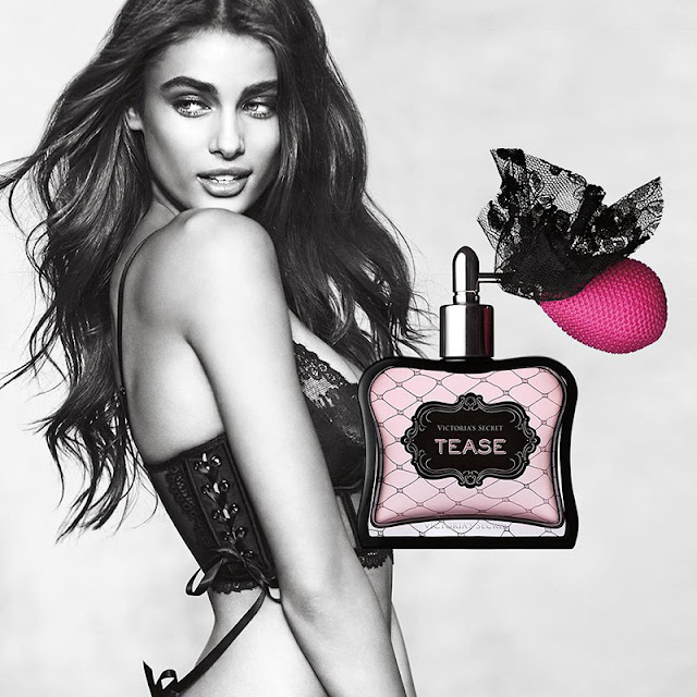Taylor Hill becomes the face of VS's new scent 'Tease'