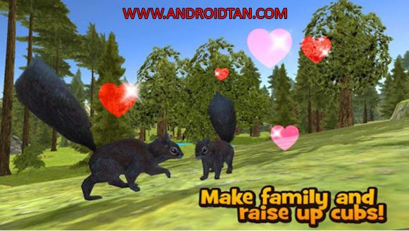 Forest Squirrel Simulator 3D Mod Apk Download