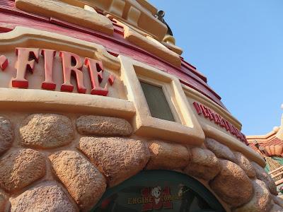 Disneyland Toontown Fire Department