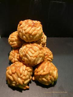 Panellets, maduixa, coco, taronja, pinyons, coco, l'essència de la cuina, blog de cuina de la sonia