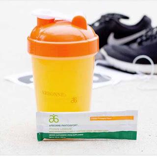 Arbonne Phytosport Prepare & Endure - a non caffeine, vegan pre-workout drink