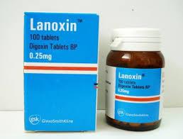 سعر ودواعى إستعمال دواء لانوكسين أقراص Lanoxin لعلاج فشل القلب