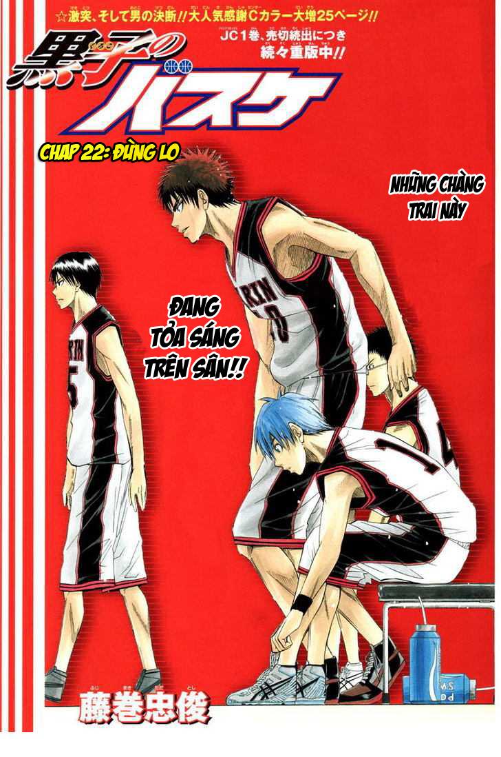 Kuroko No Basket chap 022 trang 2