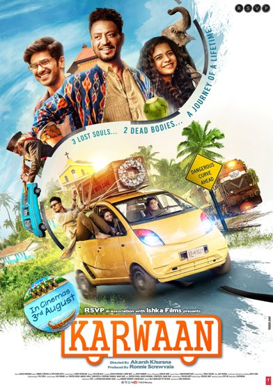 full cast and crew of Bollywood movie Karwaan 2018 wiki, Kriti Kharbanda, Irrfan Khan Karwaan story, release date, Karwaan – See Your Evil wikipedia Actress name poster, trailer, Video, News, Photos, Wallpaper