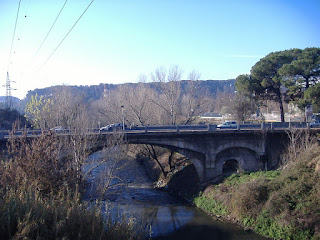 The small side arches of the Ponte Salario are thought to be part of the original Roman structure