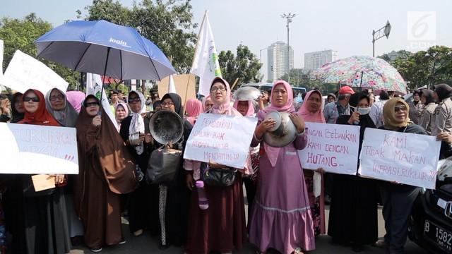 Rupiah Anjlok, Emak-Emak Sudah Tidak Percaya Jokowi