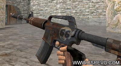 Skin M4A1 - 66 Gun HD - CS 1.6