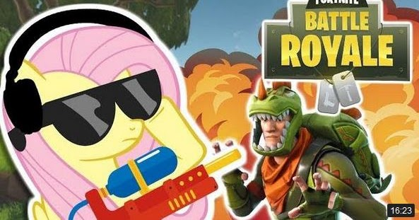 Equestria Daily Mlp Stuff Fluttershy Plays Fortnite