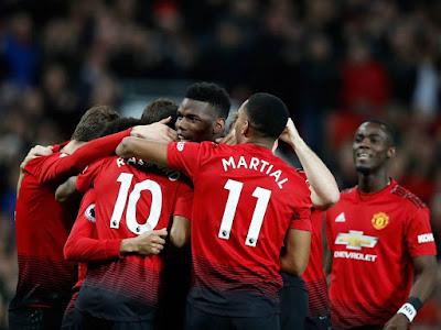Pemain Manchester United Selebrasi Atas Gol Pogba Melawan Bournemouth - Judisessions