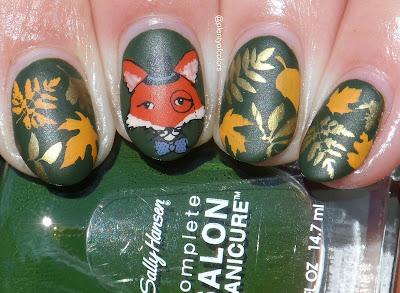 Plenty Of Colors Glamnailschallengesept Fox