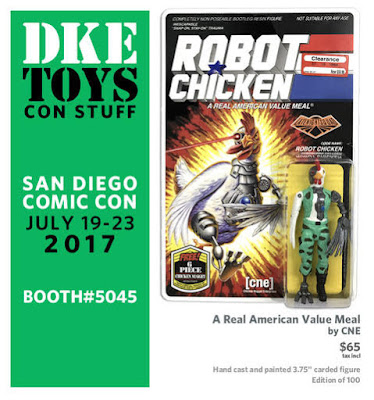 San Diego Comic-Con 2017 Exclusive A Real American Value Meal Resin Figure by CNE x DKE Toys