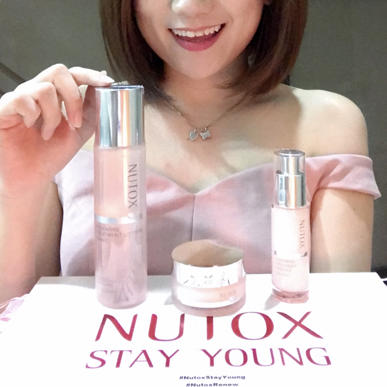 [Beauty Review] Let Your Skin Stay In The Pink of Health with Nutox Renewing Treatment