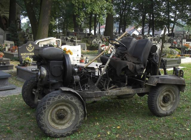 self-made hot-rod cum tractor