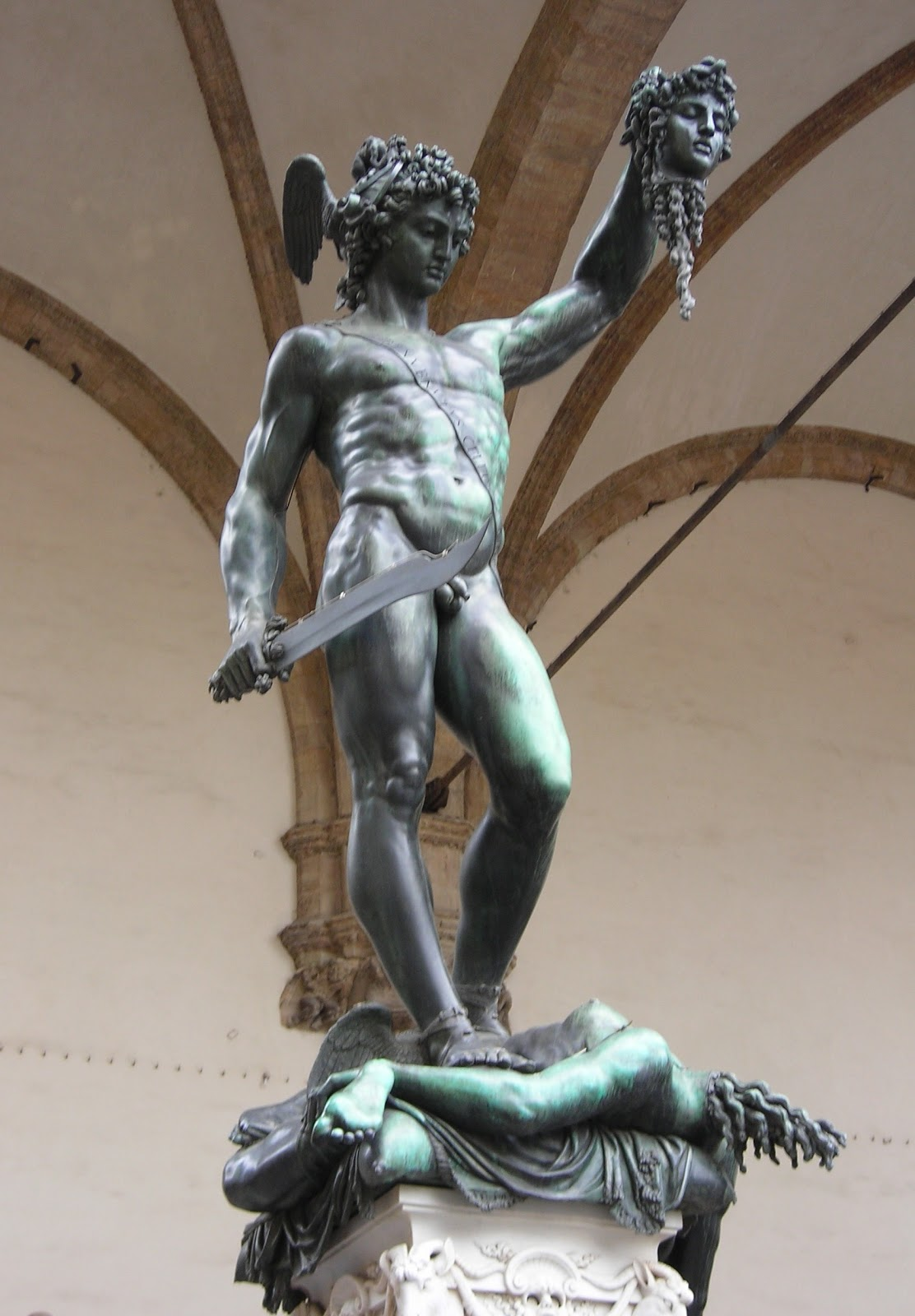 Benvenuto Cellini ~ Perseus with the Head of Medusa, 1554