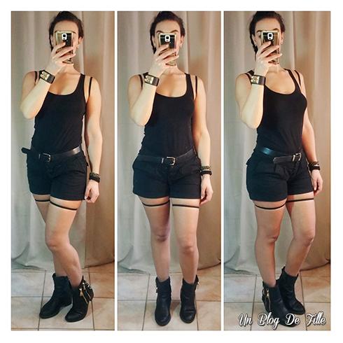 Un Blog De Fille Diy 4 Costumes Deguisements Simples Et Faciles Avec Des Vetements De Tous Les Jours