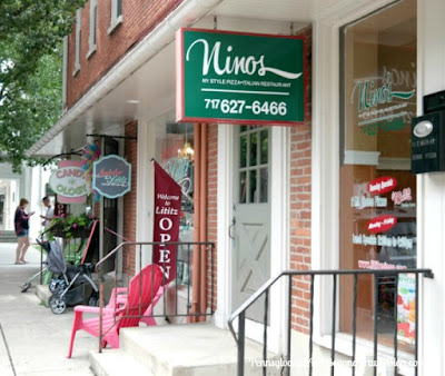 Nino's Pizza and Italian Restaurant in Lititz Pennsylvania