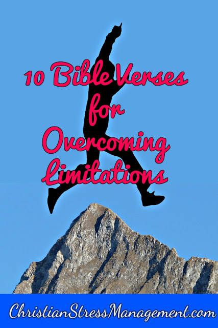 10 Bible verses for overcoming limitations