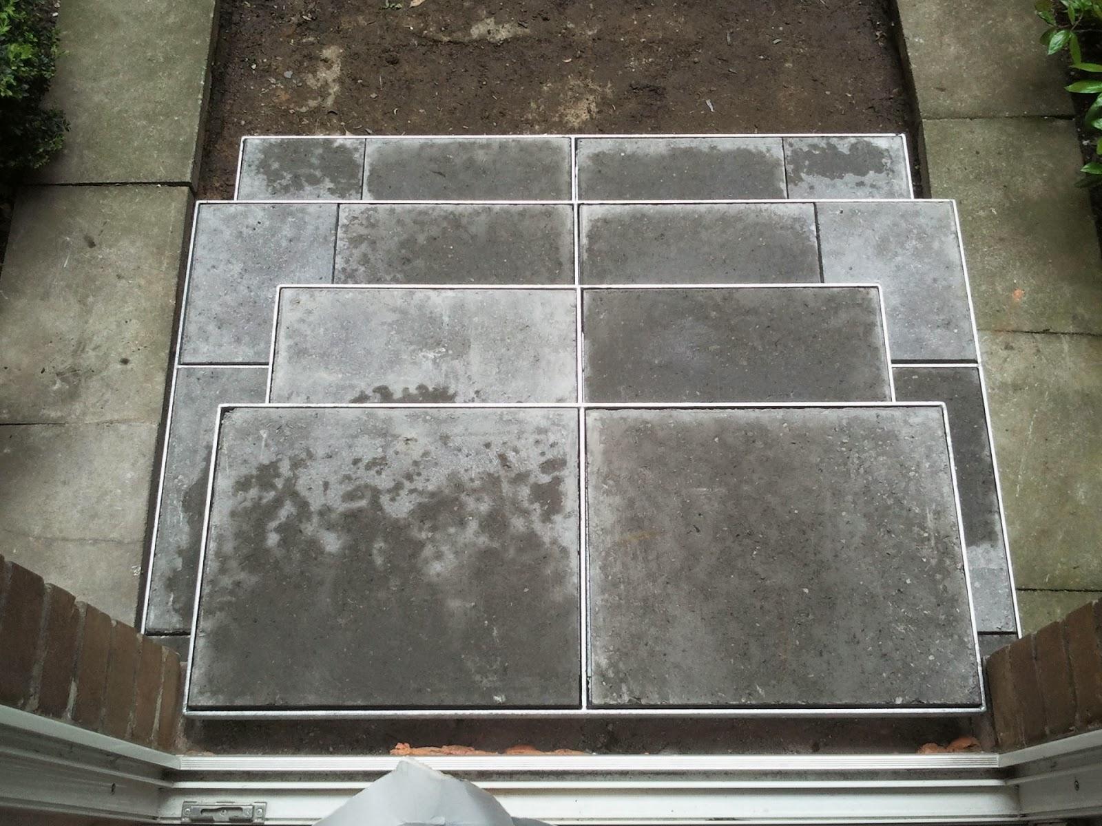 lockere gehwegplatten befestigen