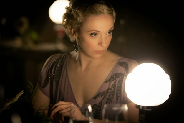 Amanda Abbington as Mary Morstan in BBC Sherlock Season 3 Episode 1 The Empty Hearse