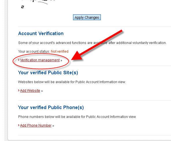 hướng dẫn verify tài khoản perfect money bước 2