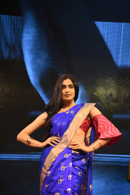 Actress Adah Sharma at Woven 2017 fashion show