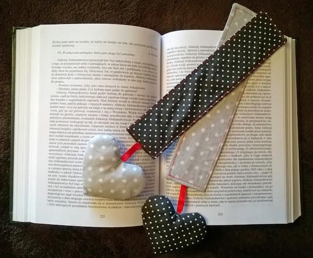 Walentynkowa zakładka do kiążki krok po kroku