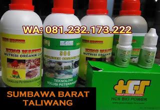 Jual SOC HCS, KINGMASTER, BIOPOWER Siap Kirim Sumbawa Barat Taliwang