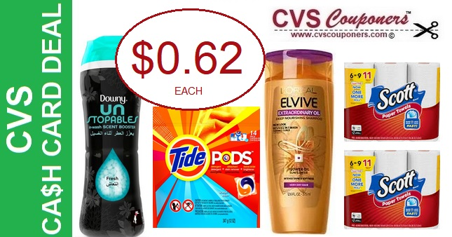 https://www.cvscouponers.com/2019/04/cvs-scott-tide-downy-loreal-cash-card-deal.html