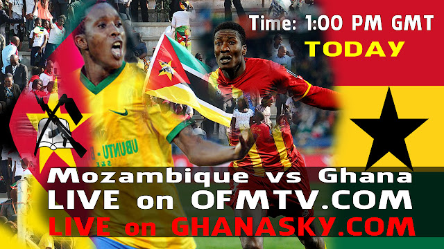 Mozambique vs Ghana Return Match - Live Stream TV - Africa Cup of Nations Qualifying