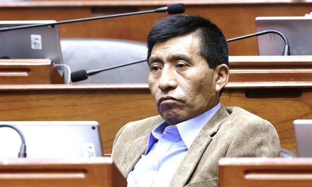 Corte Superior del Callao, declaró fundado requerimiento fiscal para levantamiento de inmunidad de congresista Moisés Mamani