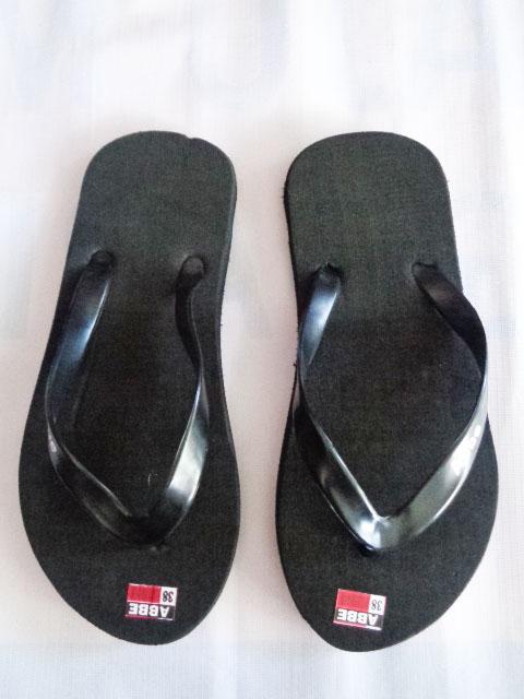 Grosir Sandal Polos Hitam - Harga Termurah - Kualitas Terbaik