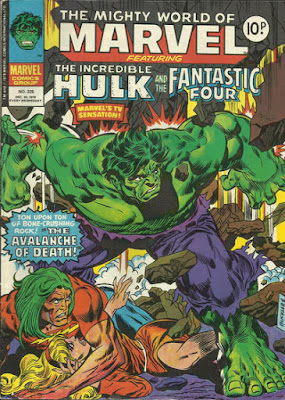 Mighty World of Marvel #325, the Incredible Hulk