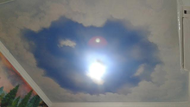 jasa lukis awan