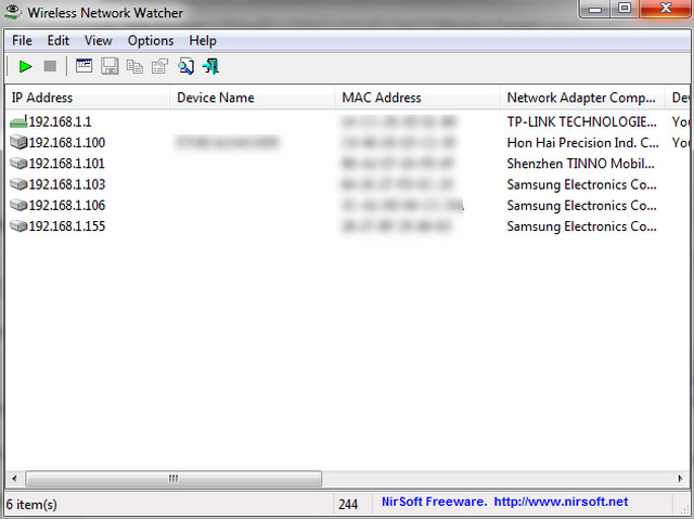كيفية العثور على الأجهزة المتصلة بشبكة الواي فاي الخاص بك Wireless Network Watcher