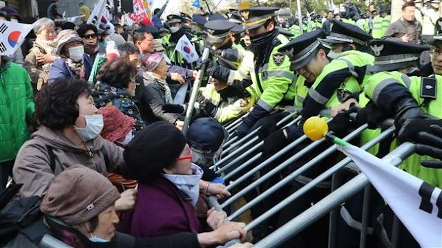 Arrest warrant approved against South Korea's ex-president Park Geun-hye