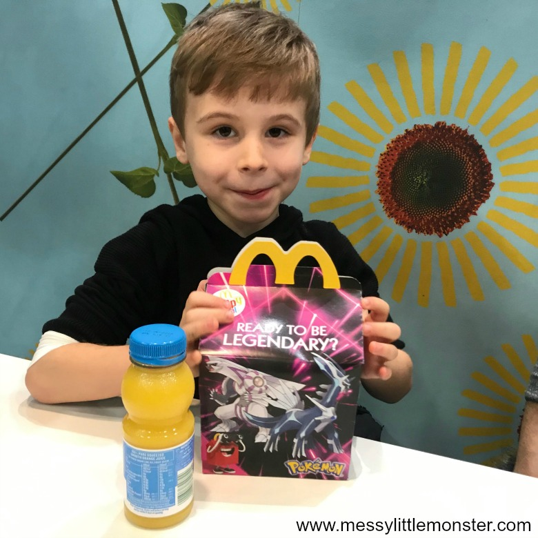 McDonald's new vegetarian happy meal review